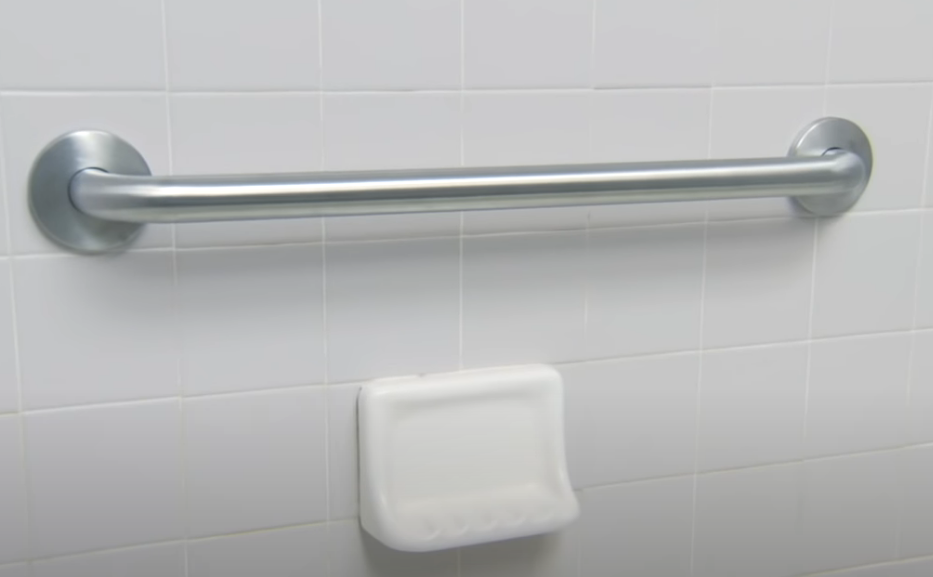 Where to Install Grab Bars on Wall Around Bathtub