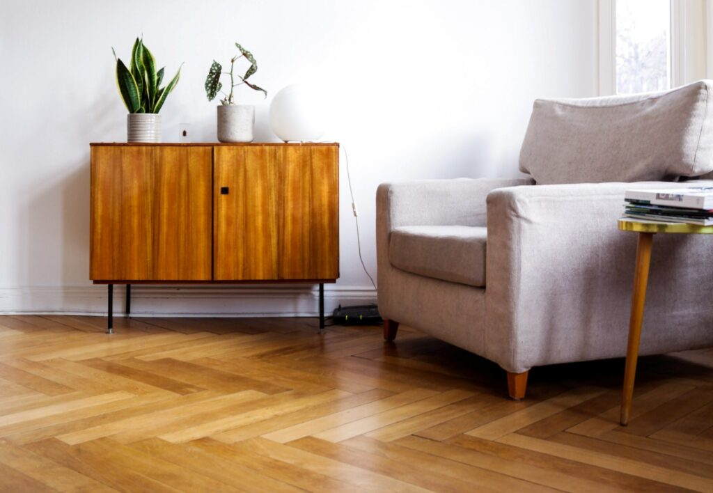 How to keep furniture from sliding on wood floor